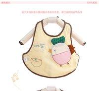 apron pattern - HOT BabyCloth Baberos Care Cotton Apron Set Babador Bandana Easy Wipe Baby Bibs Infantil Pattern Bib Burp Cloth Per