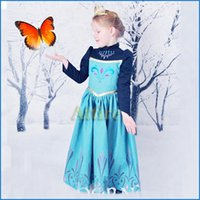 clothes dropship - 2015 Newest Cartoon Frozen Baby Girl Dresses Anna Princess Party Dress Children Clothing Kids Dresses Dropship