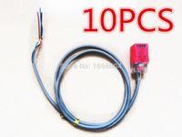 Wholesale 10 Fotek Proximity Sensor Switches PL N mm NPN out DC10 V Normal Open NEW