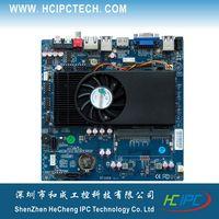amd dual cpu motherboards - M432 ITX HCMF2X21D AMD T48N Dual core CPU Embedded Motherboard COM SATA USB Mini PCIE IR Giga LAN V DC DDR3 VGA HDMI LVDS