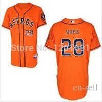 astros baseball team - 30 Teams New Cheap Men s Baseball Jersey Houston Astros LJ Hoes Cool Base Jersey Embroidery Logos Size