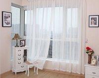 Wholesale Hot sale cm cm europe gauze curtain white color voile curtains