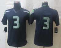 Wholesale 2014 New Style Top Quality American Football Jerseys Kids Boys Navy Blue Limited Football Jerseys Cheap Football Uniforms