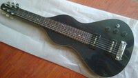 Wholesale 6 Strings Hawaii guitar lap steel guitar P90 Pickup Black Color Ebest China guitars