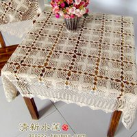 lace tablecloth - ZAKKA fashion design square lace tablecloth for dinning table table cloth table cover overlay for home decoration