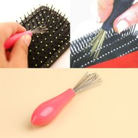 Wholesale Hot Sale Comb Hair Brush Cleaner Cleaning Remover Embedded Plastic Comb Cleaner Tool Drop Shipping HB