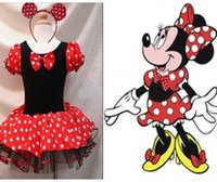 bell child - DHL Toddler Girls Minnie Style Party Holiday Halloween Dress Dance Wear Holiday Costume Headband