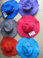 Wholesale 2016 Hot Sale Brand New Bucket Hats Fashion Wide Brim Hats Flowers Hats Sun Protection Hats Anti UV Cycling Hats Foldable Fan Shaped Hats