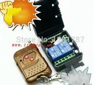 wireless rf remote control - 10pcs DC v A relay CH wireless RF Remote Control Switch Transmitter Receiver