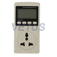 Wholesale Digital power meter Micro Power Monitor GM86 GM with Power supply V Hz Max A within KW A