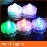 electronic candle - Anti floating Led Electronic Candle Lights Romantic Wedding Colorful Lights Waterproof Electronic Candle NL108