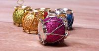 venda por atacado christmas decorative ornaments-Decoração de Natal Oranment fontes do partido árvore de tambores ornamentos decorativos de Natal tambor pendant árvore