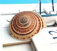 aquarium wheels - New CM Black wire wheel stud Conch Household products home Decorative Aquarium decor Conch gift