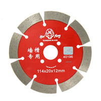 Wholesale 114 mm segmented diamond blade for concrete masonry tile dry cutting saw home decoration tools