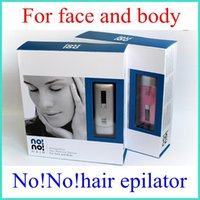 Wholesale NO No Smart Women Men Hair Epilator Professional Hair Removal Device for Face and Body in Box Packing US UK EU AU Plug Christmas Gift