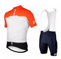 Wholesale Ropa ciclismo POC cycling Jersey Short Sleeve bib kit bicycle ciclismo bike clothing sport clothes mtb