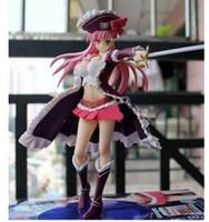al por mayor pvc hoja de reinas-Juguetes Anime japonés original Queen's Blade Rebelión Pirata Capitán Lilly Anna juguetes de los niños 20CM SEGA PVC Figuras de Acción Modelo