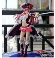 achat en gros de reines lame pvc-Juguetes Japonais original Anime Queen's Blade Rebellion Pirate Capitaine Lilly Anna jouets d'enfants 20CM SEGA PVC Figures d'action Modèle