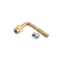 air valve extensions - Car Degree Brass Chrome Copper Metal Air Tire Valve Extension Car Truck Wheel Bicycle Scooter