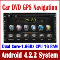 Android car audio dvd - 6 quot Android Din Universal Car DVD Player GPS Navigation w Radio BT TV MP3 Audio Stereo G WIFI Multimedia Player Capacitive Screen