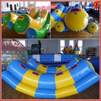 water park games - 2016 hotsales for Sports Outdoors DHL Summer park children games inflatable water seesaw m