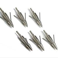 arrowhead lot - Classical bow fishing arrowhead broadhead hunter hunting fishing broadhead nickled plated