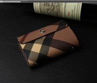 bank card design - Women Leather Business Card Holder PU Credit Card Bank Card Case Fashion Design ID Holders High Quality
