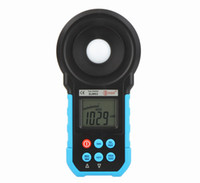 Wholesale BSIDE ELM02 Lux Tester illuminator Measuring Illuminometer Auto Range Digital LCD Lux FC Meter Light Illuminance Meter