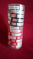 Wholesale plastic bracelet with PUERTO RICO flag