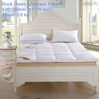 bedroom furniture brands - Brand new Duck Down Filling Cotton Cover Mattress Topper Bedroom furniture cm inch for Home Five Star Hotel