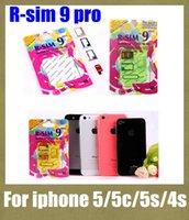 mobile cdma - r sim pro micro sim unlock card gsm wcdma cdma rsim pro r sim pro mobile phone unlocking kits for iphone c s s fit ios7 x OTH016