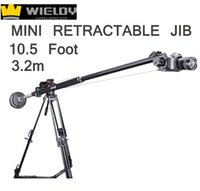 crane - WIELDY m Foot Foot Mini Retractable Portable Camera Crane Jib Mini DSLR Crane Jib Arm Crane mini Jib