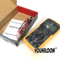Wholesale LCD Digital Multimeter Voltmeter Ohmmeter Ammeter Capacitance Tester Hot