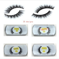 Wholesale Fur Mink False Eyelashes Eyes Makeup Handmade mink handmade natural D models Lashes eyelash manufacturers Beaux Arts promotional
