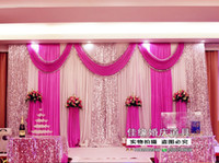 curtains - Wedding gauze curtain decorate Cheap wedding stage props background decorate curtain decoration cloth Formal Events Supplies