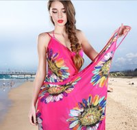 Wholesale Fashion Women Summer beach dress Sexy Scarf Beach chiffon long scarf dual sun seaside beach scarf Mix color