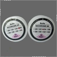 best gauges - Best Nichrome Wire Feet Spool AWG Gauge Heating Resistance Coil Wick for Electronic Cigarette DIY RDA DHL Free