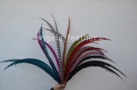 Wholesale Factory Direct Black inch cm Natural Dyed Lady Amherst Pheasant Tail Feather party supplies