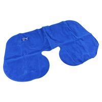 amazing trip - Amazing Set n Sleep Kit Lady Man Inflatable Neck Pillow Air Cushion Pillow Eye mask Ear Plug Cosy Business Trip