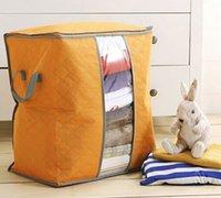 Wholesale Fashion Hot Amazing Storage Box Portable Foldable Clothing Organizer Non Woven Clothing Storage Box for Blanket Pillow Underbed Bedding