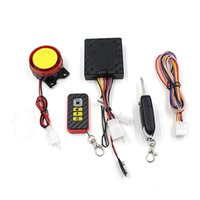 Wholesale 1 Set Bike Motorcycle Theft Protection Accessories Motorbike Security Alarm System Immobiliser Remote Control Engine Top Quality