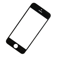 Wholesale For iPhone G c s Front Outer Glass Lens Screen Digitizer Touch Panel Screen Cover Black White DHL EMS