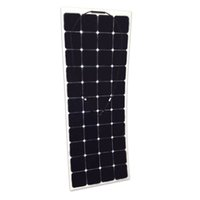 automobile wholesalers - 135W Sun Power cell semi flexible solar panel for yacht boat
