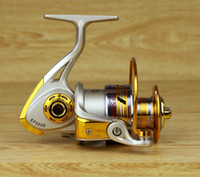 bait reel - 10BB Speed Ratio Metal Spinning Fishing Reel EF1000 Ocean Sea Boat Ice Fishing tackle Aluminum FISHING REEL
