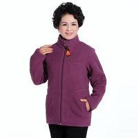 age sweatshirts - Winter New Middle aged Mother Clothing Women Hoodies Fleece Thick Coat Fashion Casual Sport Sweatshirt Jacket Plus Size XL