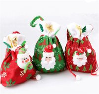 Cheap Indoor Christmas Decoration Christmas Stockings Best Cloth Luminous Christmas Treat Bags