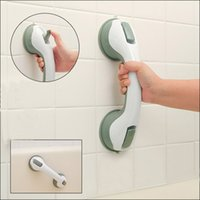 bathtub accessories - Strong Suction Cup Grab Bar Wall Hanger Bathroom Accessories Bathroom Handrails Bathtub For Elderly Bathroom Products