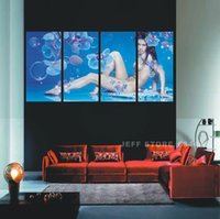 Wholesale Home decorating Nude woman the line like Wall Art Picture Home Decoration Modern Painting Living Room Canvas Print