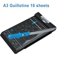 Wholesale DSB Guillotine Paper Cutter GT B A3 Cut Length Sheets Capacity Portable Office School Home Supplies