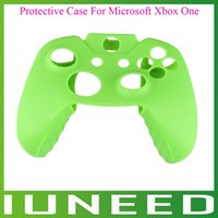 Wholesale 01A233Z Brand new Soft Silicone Rubber Gel Protective Case Cover For Microsoft Xbox One Controller quality first
